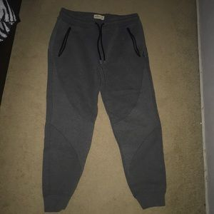 Grey Hollister Joggers